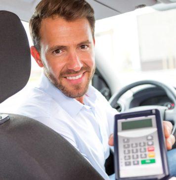 terminal de paiement pour taxi